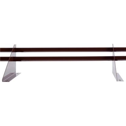 Снегозадержатель трубчатый универсальный 3 м цвет коричневый