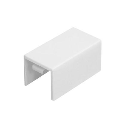 Соединение на стык 12/12 мм цвет белый 4 шт.