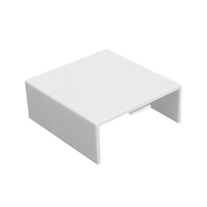 Соединение на стык 40/16 мм цвет белый 4 шт.