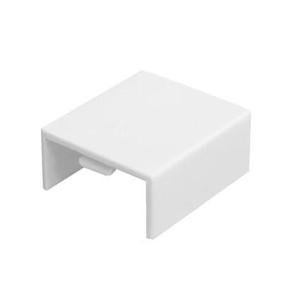 Соединение на стык 40/25 мм цвет белый 4 шт.