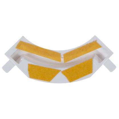 Соединитель 07Б цвет белый/золото