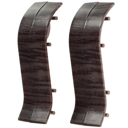 Купить Соединитель для напольного плинтуса Дуб Палёный 47 мм 2 шт. дешевле