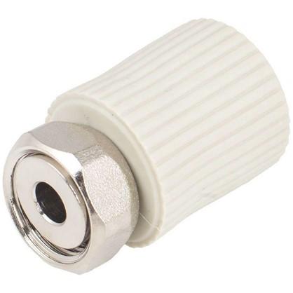 Соединитель FV-Plast -Plast с накидной гайкой  20х1/2 полипропилен