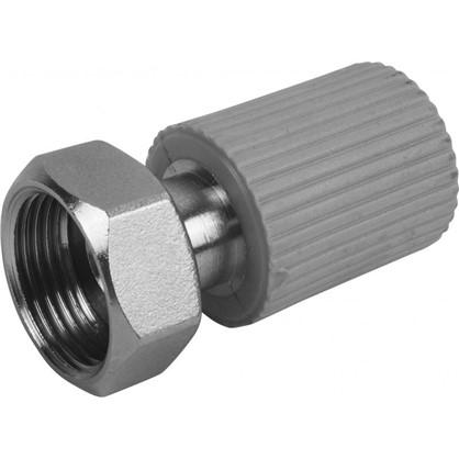 Соединитель FV-Plast -Plast с накидной гайкой  20х3/4 полипропилен