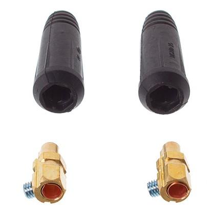 Соединитель кабельный вилка 25 мм2 2 шт.