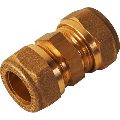 Купить Соединитель обжимной Tiemme 15 мм медь дешевле
