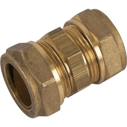 Соединитель обжимной Tiemme 22 мм медь
