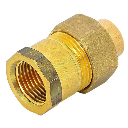 Соединитель пайка 15 мм x 1/2 разъем внутренняя резьба медь