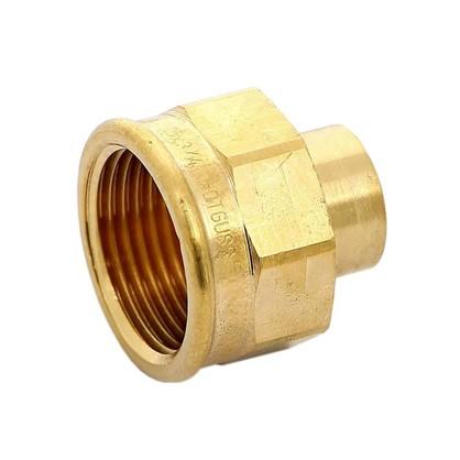 Купить Соединитель пайка 15 мм x 3/4 внутренняя резьба медь дешевле