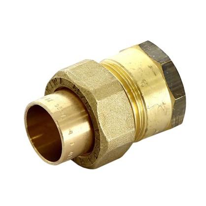 Соединитель пайка 22 мм x 3/4 разъем внутренняя резьба медь