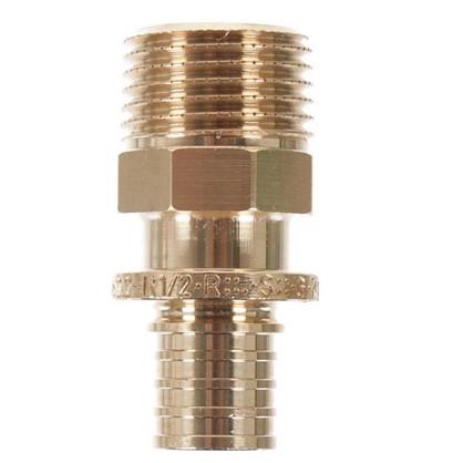 Соединитель Rehau RX 16х1/2 наружняя резьба бронза