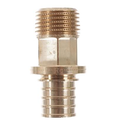 Соединитель Rehau RX 20х1/2 наружняя резьба бронза