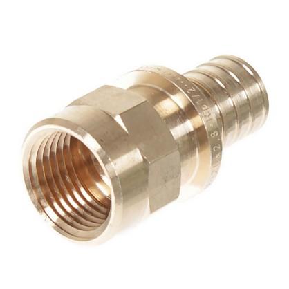 Соединитель Rehau RX 20х1/2 внутренняя резьба бронза
