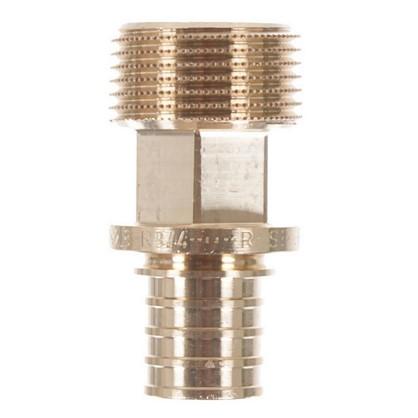 Соединитель Rehau RX 20х3/4 наружняя резьба бронза