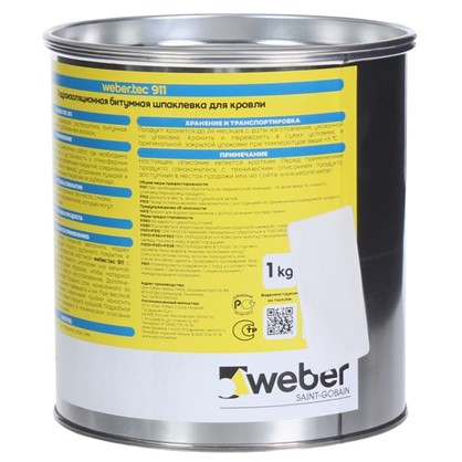 Купить Состав для кровли Weber.tec 911 1 кг дешевле