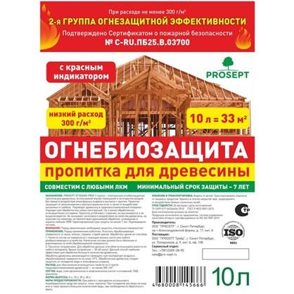 Состав ОгнебиоПроф 2 тонированный 10 кг