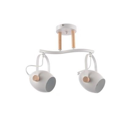 Купить Спот поворотный Bud L1149 2 лампы 6 м² цвет белый дешевле