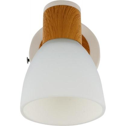 Спот поворотный Бутон 1 лампа 2 м² цвет сосна