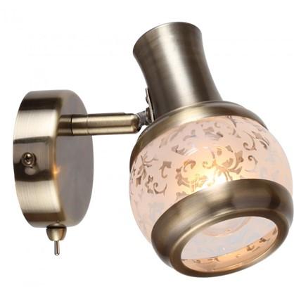 Купить Спот поворотный Flora 1 лампа 2 м² цвет античная бронза дешевле
