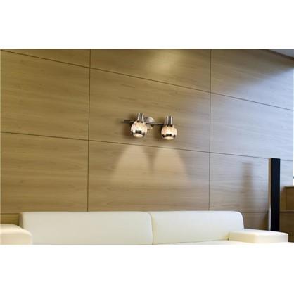 Купить Спот поворотный Flora 2 лампы 4 м² цвет античная бронза дешевле