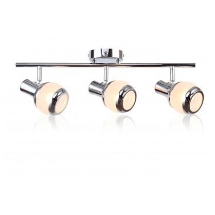 Купить Спот поворотный Largo 3 лампы 6 м² цвет хром дешевле