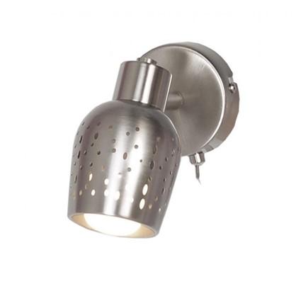 Купить Спот поворотный Siena 1 лампа 2 м² цвет сатин бронза дешевле