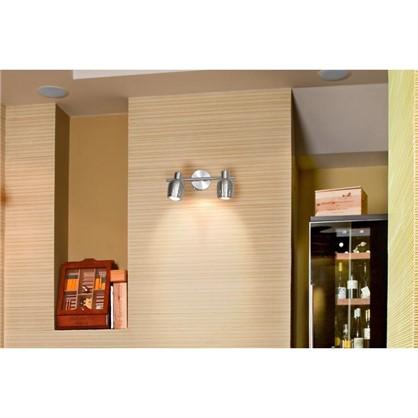 Купить Спот поворотный Siena 2 лампы 4 м² цвет сатин бронза дешевле