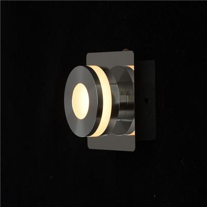 Спот светодиодный Пунктум 1х5 Вт 220 В IP44 цвет хром