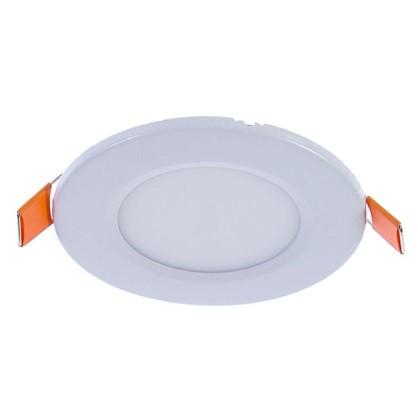 Купить Спот врезной светодиодный круглый 3 Вт диаметр 8.5 см свет холодный белый дешевле