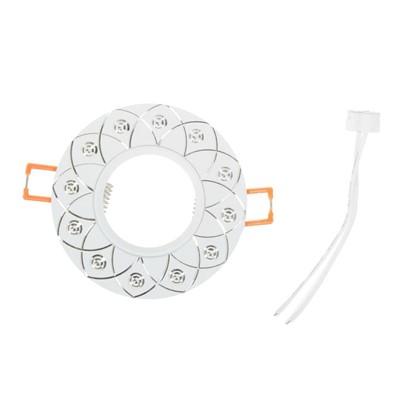 Купить Спот встраиваемый Alum03 цоколь GU5.3 50 Вт цвет белый дешевле