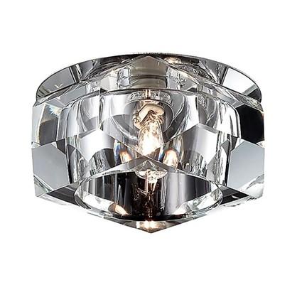 Спот встраиваемый Crystals круглый цоколь G9 40 Вт