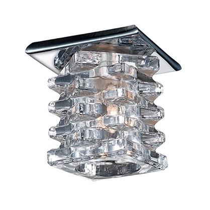 Купить Спот встраиваемый Crystals решетка цоколь G4 20 Вт 12В цвет хром дешевле