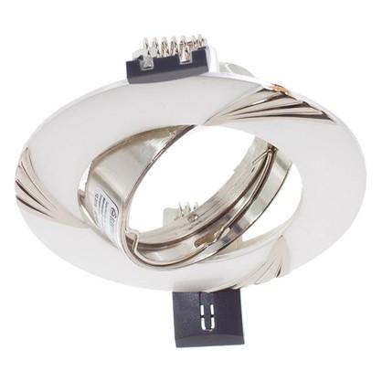 Спот встраиваемый Электростандарт Daniele цоколь GU5.3 50 Вт цвет серебро/никель