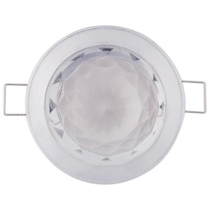 Спот встраиваемый Glam цоколь GU5.3 50 Вт цвет хром IP20