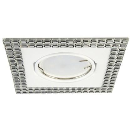 Спот встраиваемый Mirror цоколь GU5.3 50 Вт цвет белый/зеркальный