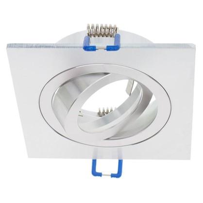 Спот встраиваемый поворотный Power Light 6216/1-4SCH цоколь GU5.3 50 Вт цвет матовый хром