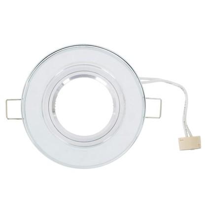 Купить Спот встраиваемый Power Light 6193/1-4CH цоколь GU5.3 50 Вт цвет хром/стекло дешевле