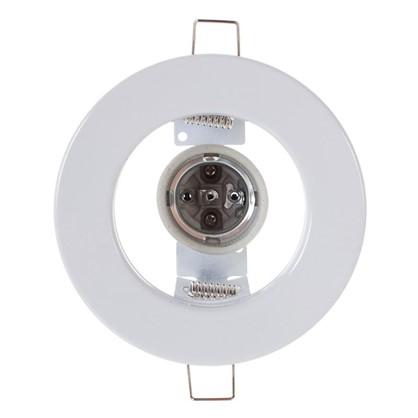 Купить Спот встраиваемый Power Light R63 цоколь E27 60 Вт сталь цвет белый дешевле