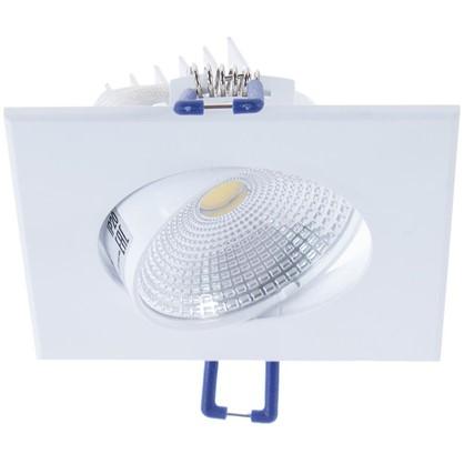 Спот встраиваемый светодиодный COB 5 Вт 4000 K цвет холодный белый