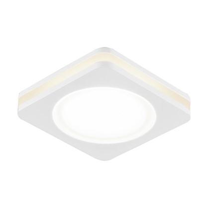 Купить Спот встраиваемый светодиодный Contorno 1х5 Вт 450 Лм IP20 цвет белый дешевле