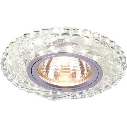 Купить Спот встраиваемый светодиодный цвет прозрачный дешевле