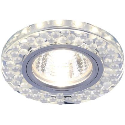 Купить Спот встраиваемый светодиодный цвет зеркальный/белый дешевле