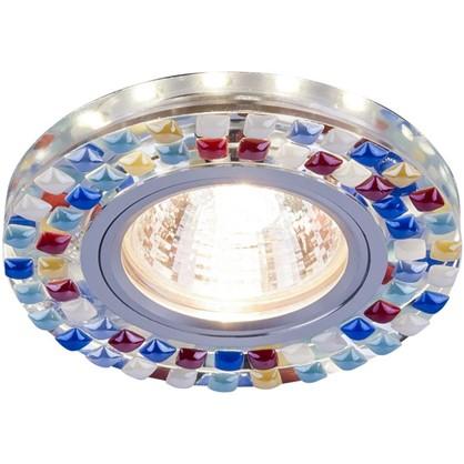 Купить Спот встраиваемый светодиодный цвет зеркальный/мульти дешевле