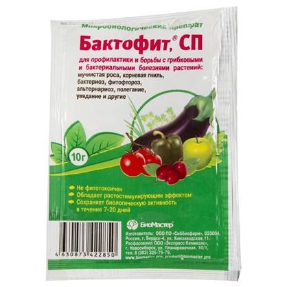 Купить Средство для защиты растений от болезней Бактофит СП 10 г дешевле