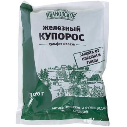 Средство для защиты растений от болезней Железный купорос 300 г