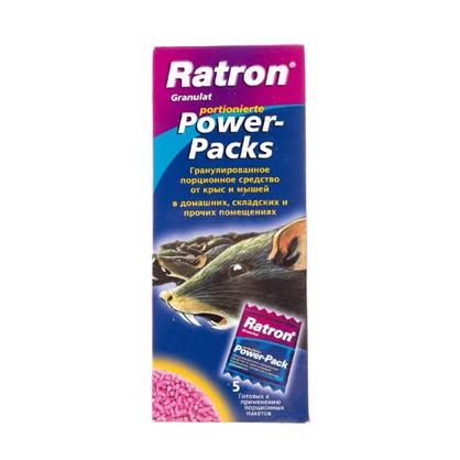 Средство от крыс и мышей Ratron порционное пакетик 200 г
