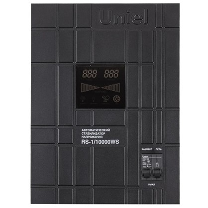 Купить Стабилизатор напряжения Uniel RS-1/10000 WS дешевле