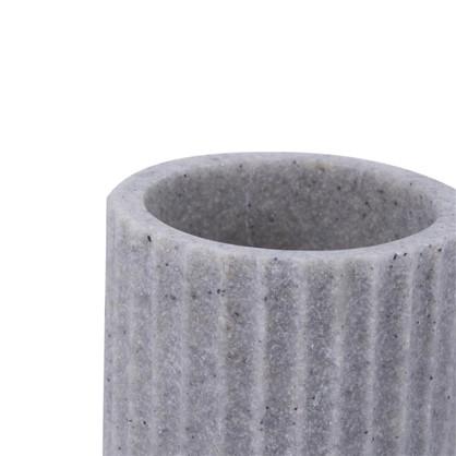 Стакан для зубных щеток Cork полирезина цвет серый
