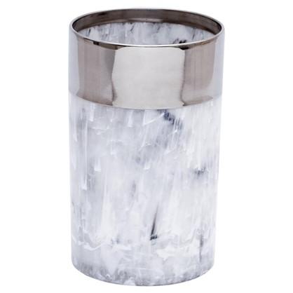 Купить Стакан для зубных щеток настольный Allure полистирол цвет серый дешевле