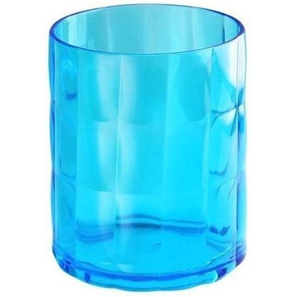 Купить Стакан для зубных щеток настольный Verran Sole акрил цвет синий дешевле